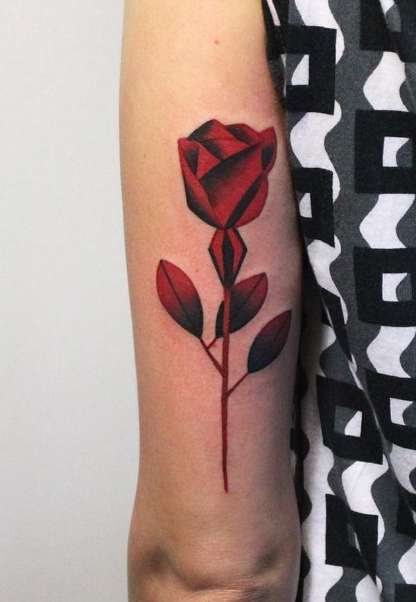 Rose sleeve tattoo - 120+ Meaningful Rose Tattoo Designs