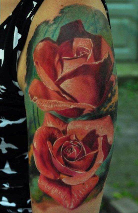 den yakovlev 21  - 35+ Realistic Tattoos by Den Yakovlev