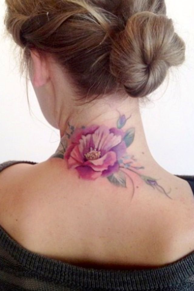 watercolor, colorful, tattoo