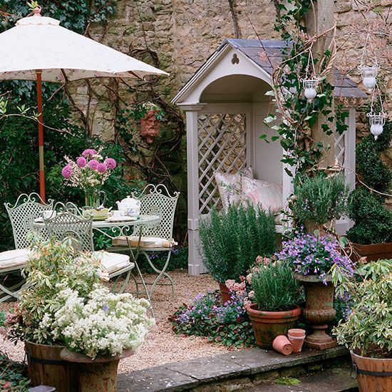 Flawless 25 Cottage Style Garden Ideas fancydecors.co/... A variety of plants ca...