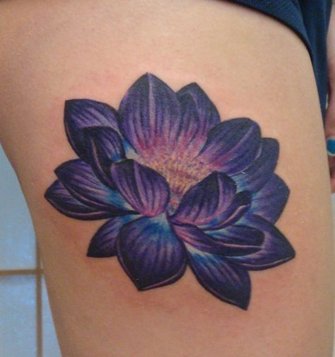 920 tattoo, oshkosh, wisconsin, carrie olson, tattoos, flower tattoos, lotus tat...