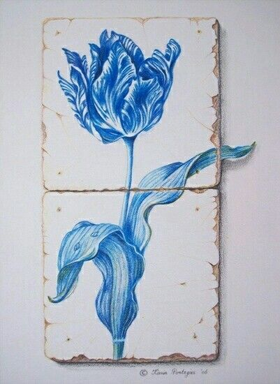 Cerulean Blue Cottage
