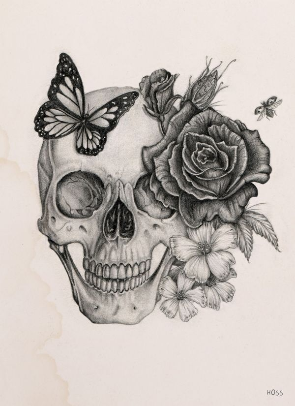 Résultats de recherche d'images pour « pinterest tatouage tete de mort »