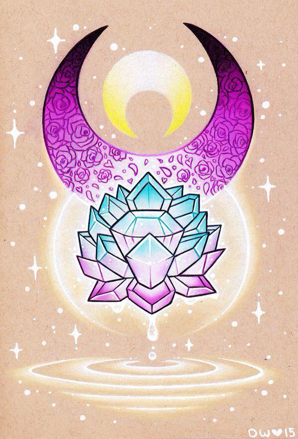Sailor Moon Silver Crystal  by danniichan.devian...