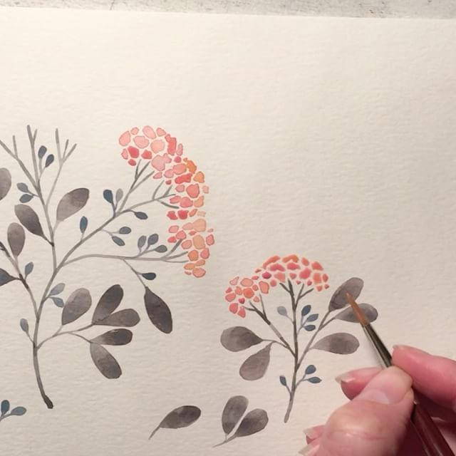There's something so peaceful about painting, especially with a glass of wine! H...