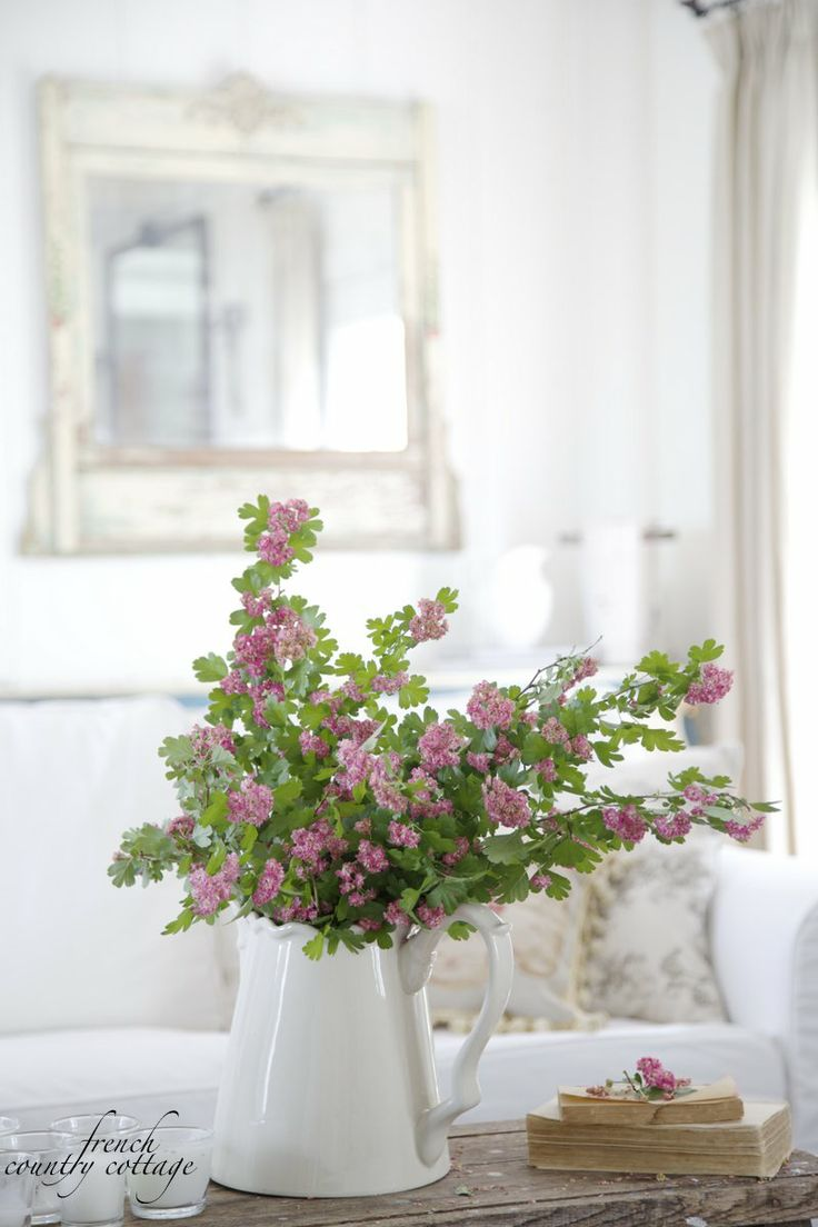 FRENCH COUNTRY COTTAGE: Flowering Branches Bouquet