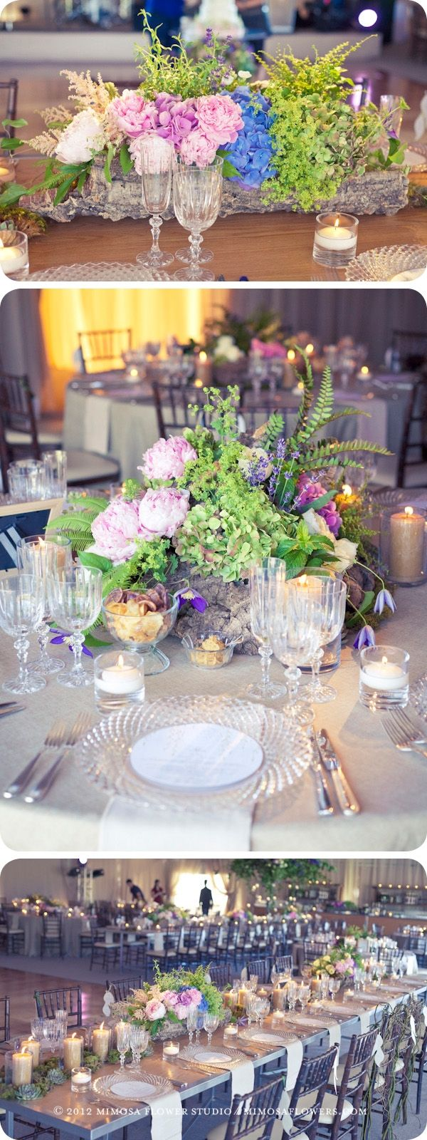 Blue Mountain private wedding - floral decor