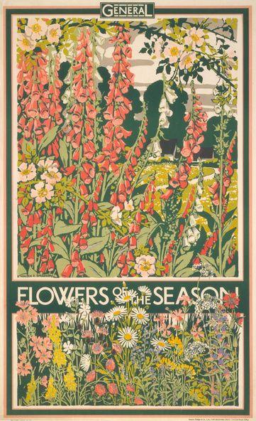 Flowers of the Season, Walter E. Spradbery, 1933