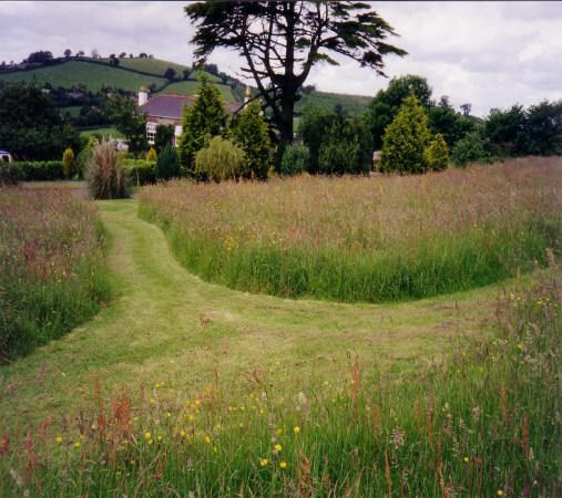 Devon meadow walkway -  Ace Garden Services in Devon