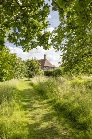 The garden in June at Smallhythe, Kent