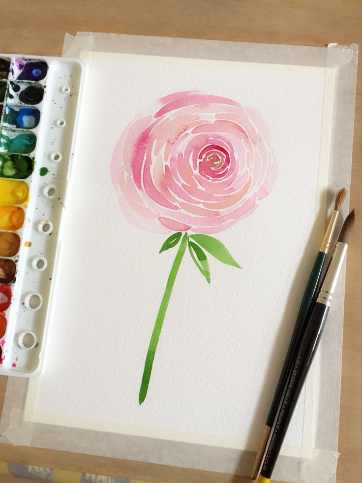 Learn how to paint a new flower every day with help from acclaimed watercolor ar...