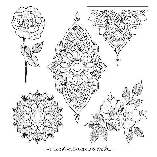 Школа Мехенди | Онлайн обучение росписи хно...