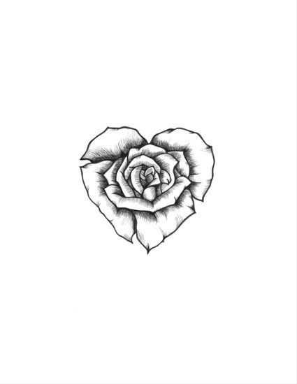 Heart Flower Tattoos Pictures Flowers Healthy