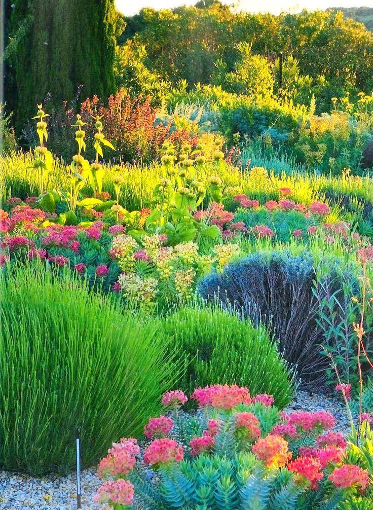 Flowers And Garden Ideas Mediterranean Outdoor Decor Garden