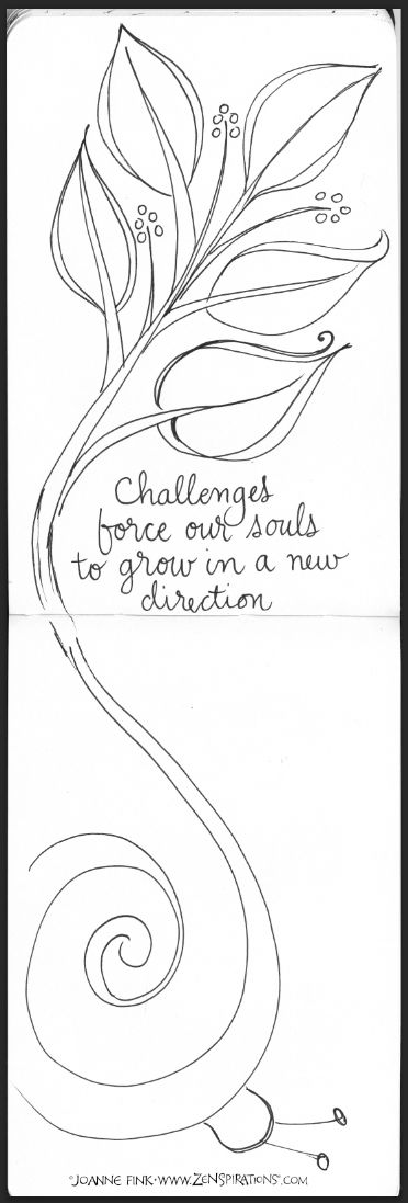 Check out pages from Joanne's Journals in this week's Zenspirations - BL...