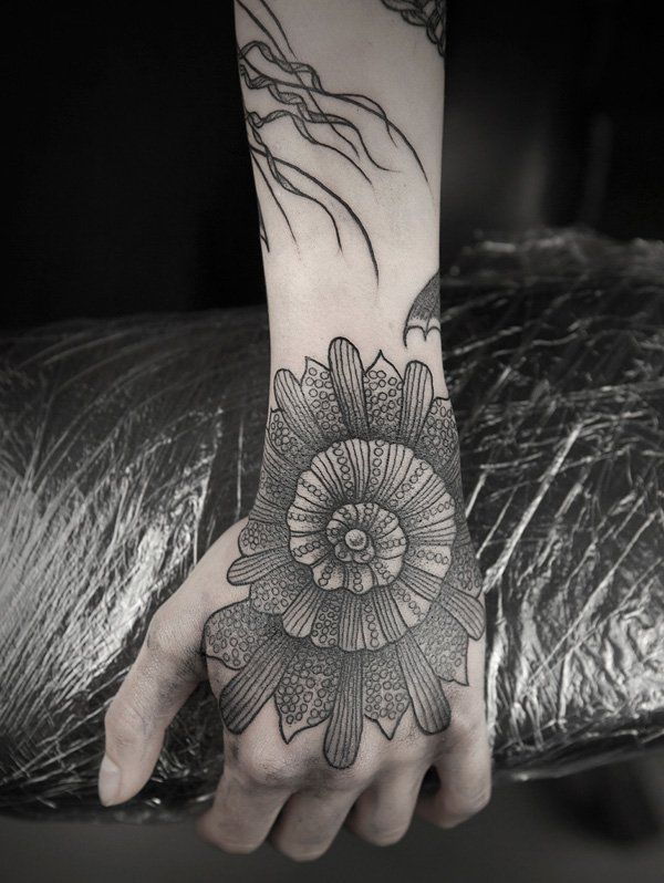 Flowers Drawings Hand Tattoo 45 Eye Catching Tattoos On
