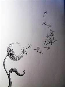 Oh I like this...seems more realistic that the other dandelion tattoos I've ...