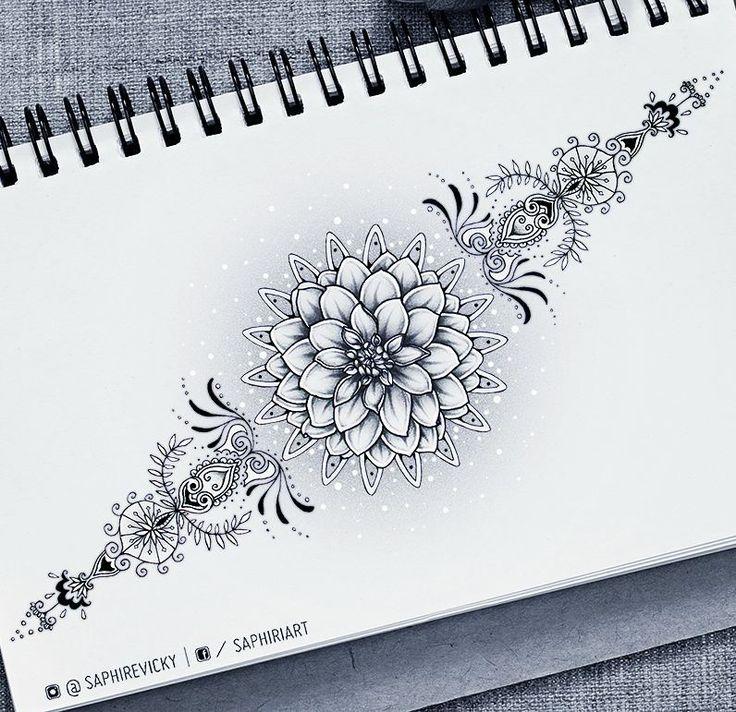 Flowers Drawings Victoria Muller On Instagram Dahlia Flower