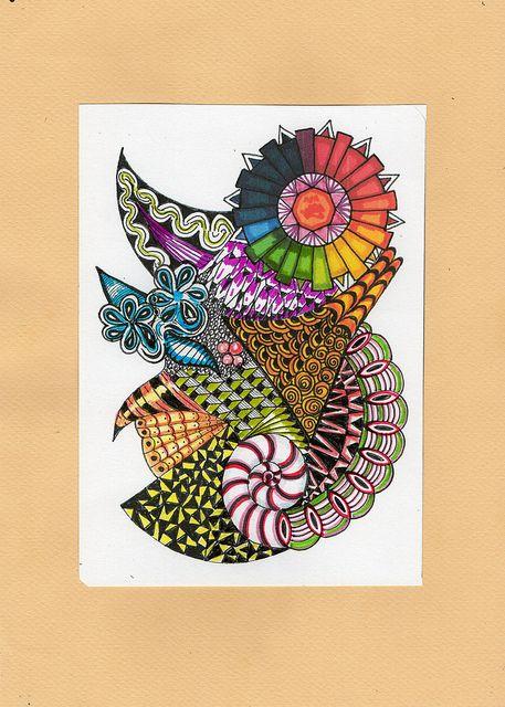 Flowers Drawings Colors Wheel Flickr Photo Sharing