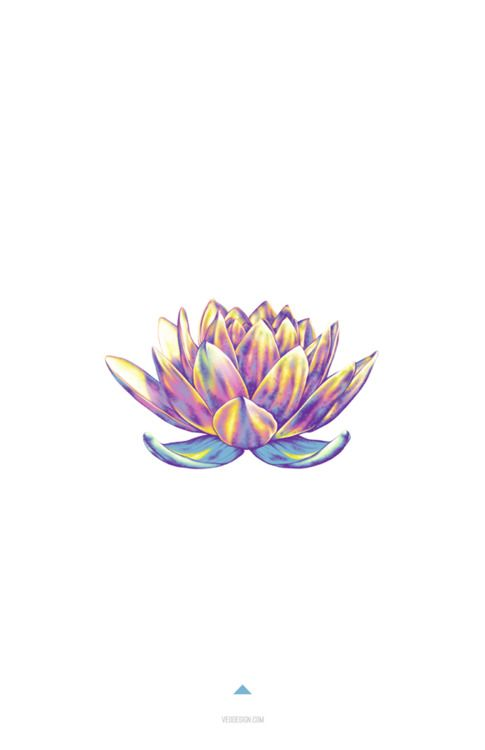 Lotus flower tattoo small color flowers healthy minimalistic design lotus flower in color mightylinksfo