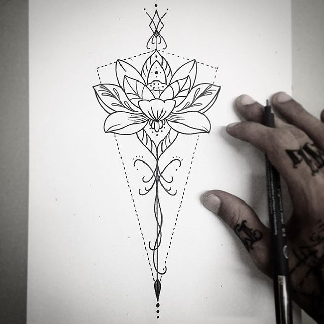 Flowers Drawings Tatuagem De Mandala Feminina Significado