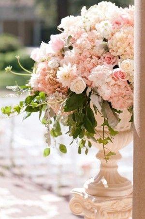 fresh floral urn......
