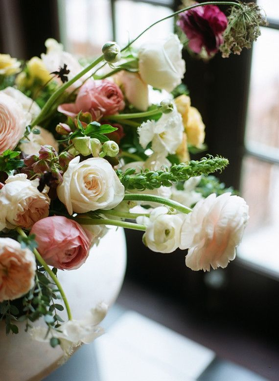Pink flowers inspiration dramatic floral wedding inspiration pink flowers inspiration mightylinksfo