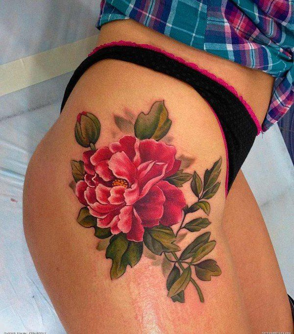 50 Peony Tattoo Designs and Meanings