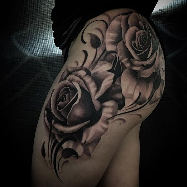 Flower Tattoos 120 Meaningful Rose Tattoo Designs Art And