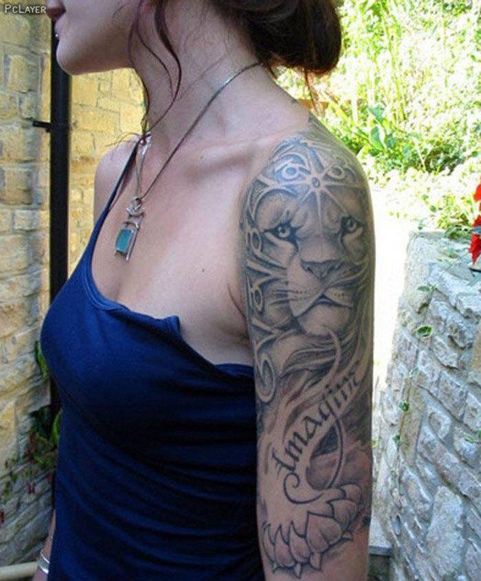 Flower Tattoos Cute Half Sleeve Tattoo Ideas For Girls Flowers