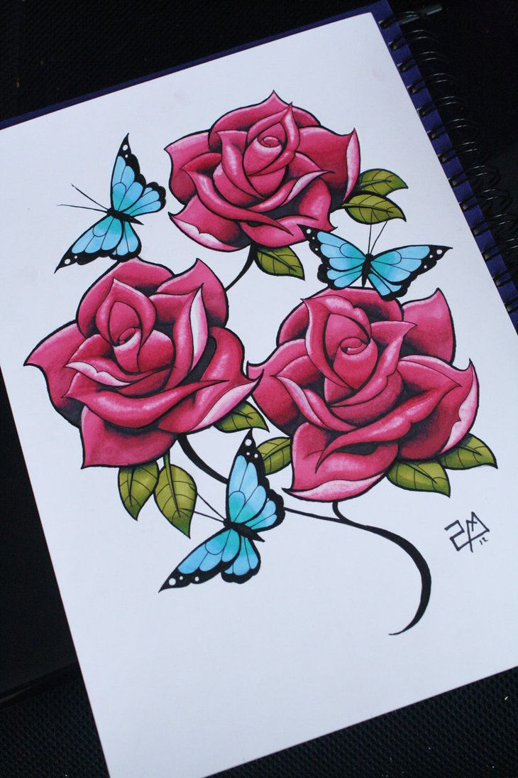Flowers Drawings Inspiration I Draw Roses Colour D By