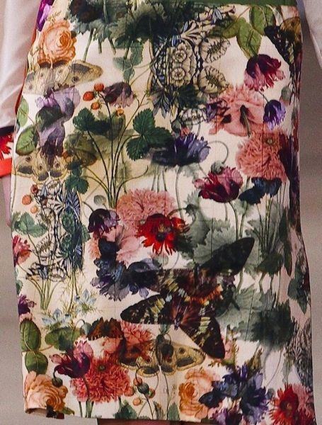 Preen Fall 2012 Floral Prints Inspired by Beatrix Potter Botanical Drawings and ...