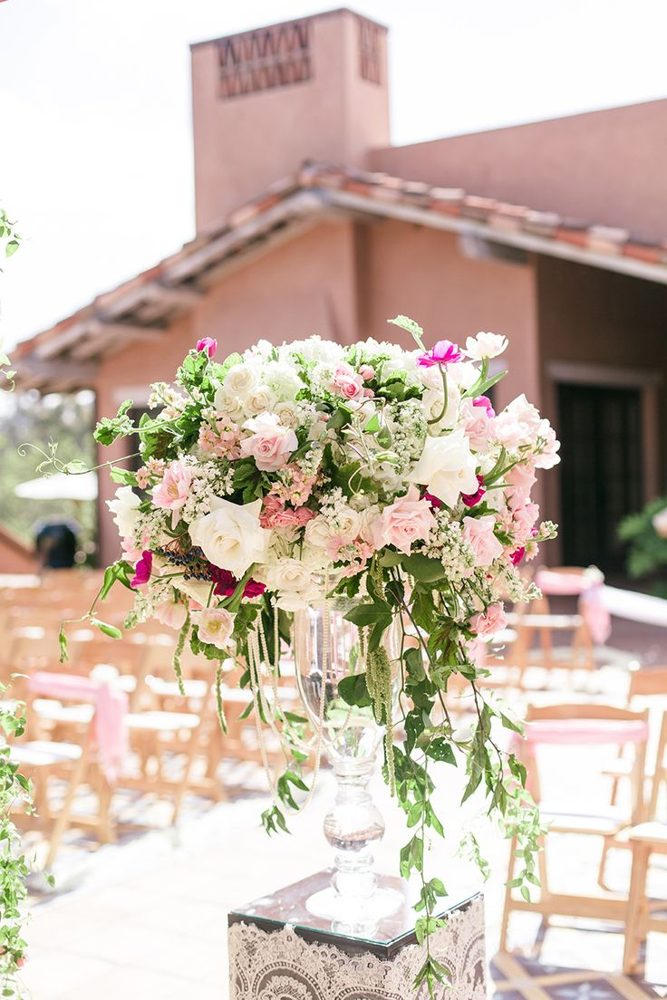 Coordinator: Bliss Events - www.stylemepretty... Ceremony Venue: Rancho Valencia...