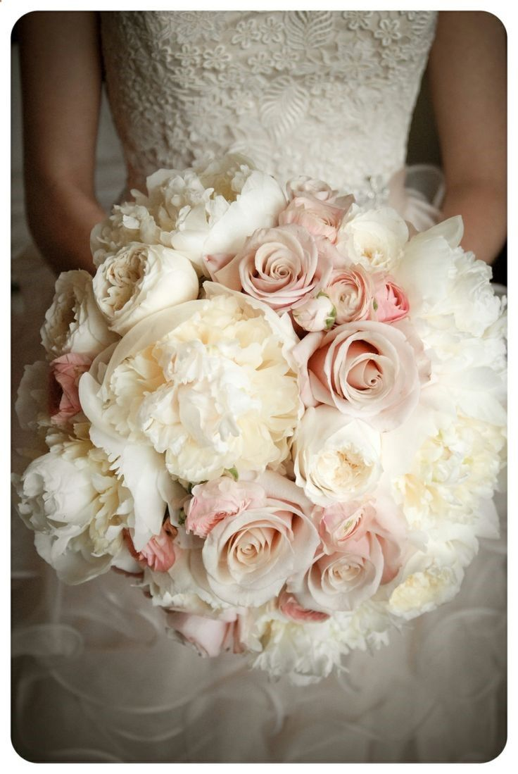 Pink Flowers Inspiration Blush Pink Wedding Bouquets