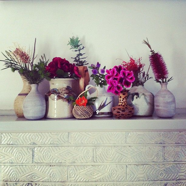 Mantel piece, November 2012.