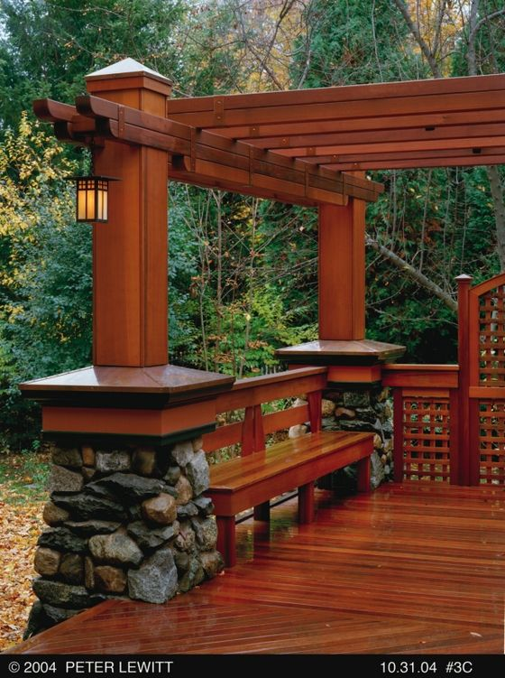 21 Inspiring DIY Deck Design Ideas - www.remodelingguy.... Your porch would look...