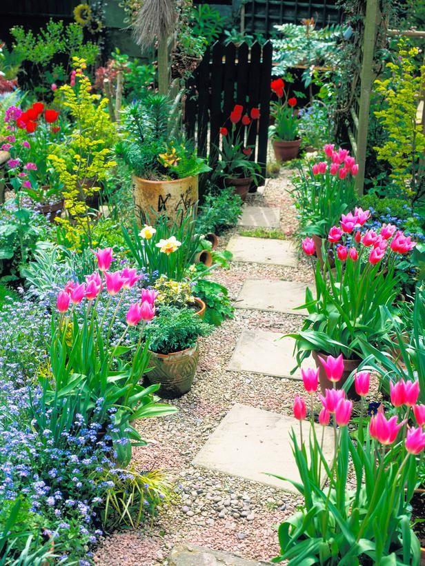 Flowers And Garden Ideas Cottage Garden Path Flowers Tn