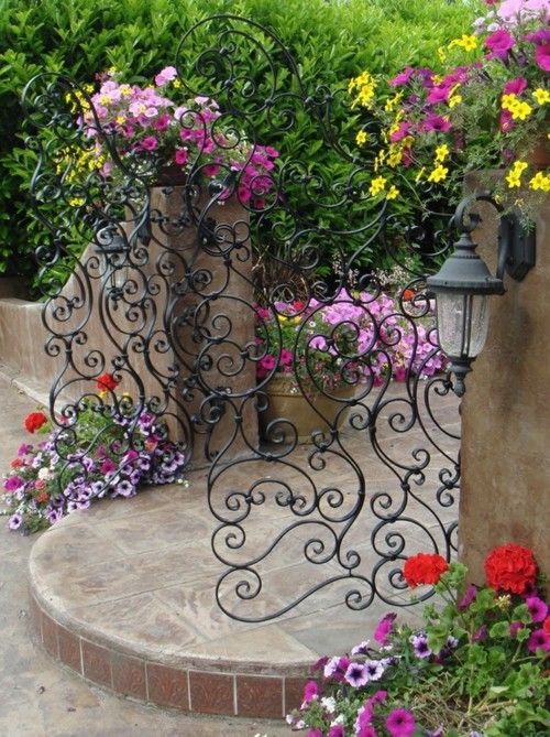 Floral Gate
