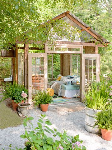 Framework for a Garden Retreat