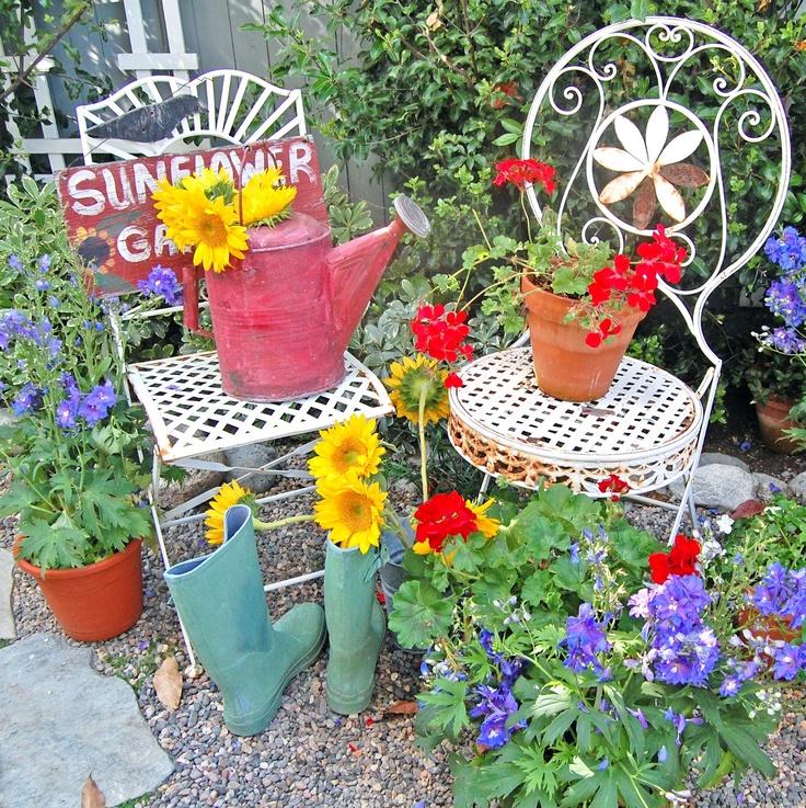 Garden Decor ~ My Painted Garden
