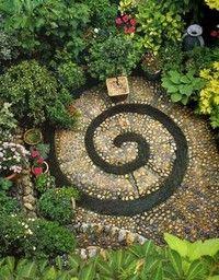Garden art...I absolutely love this symbol