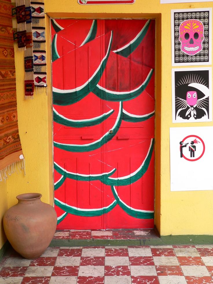 La puerta sandia, Oaxaca, Mexico