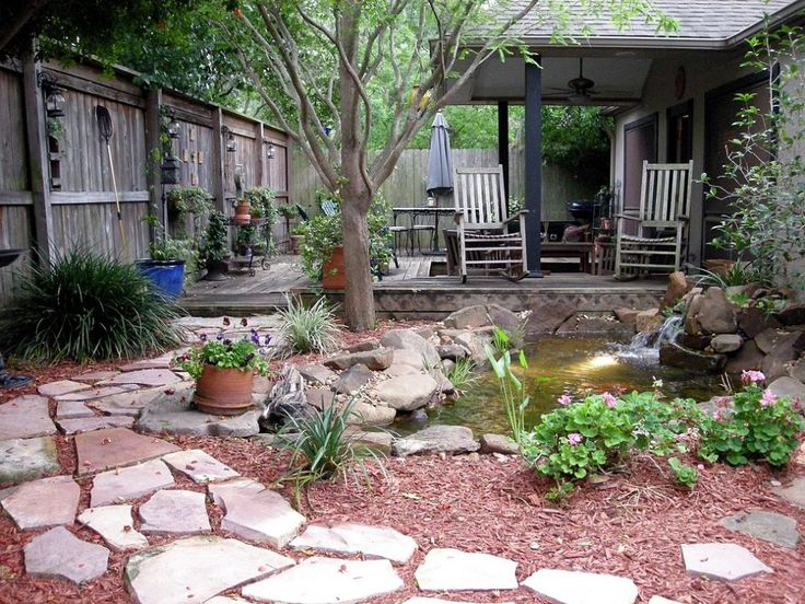 Flowers And Garden Ideas Lisa S Small Courtyard Garden In