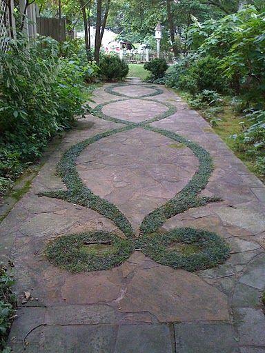 Lovely garden path/ KCM