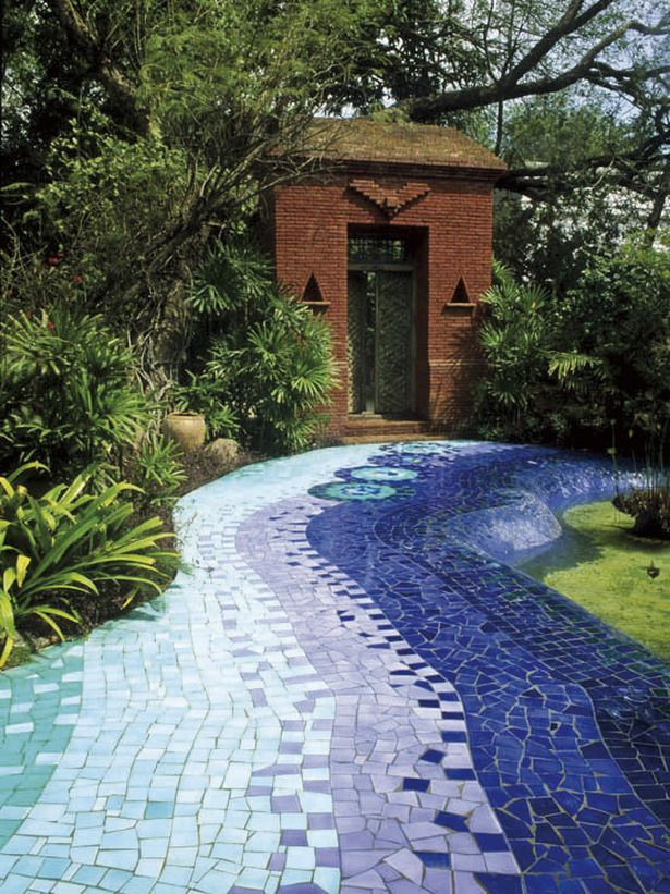Mosaic Path | Landscaping : Garden Galleries : HGTV - Home & Garden Television