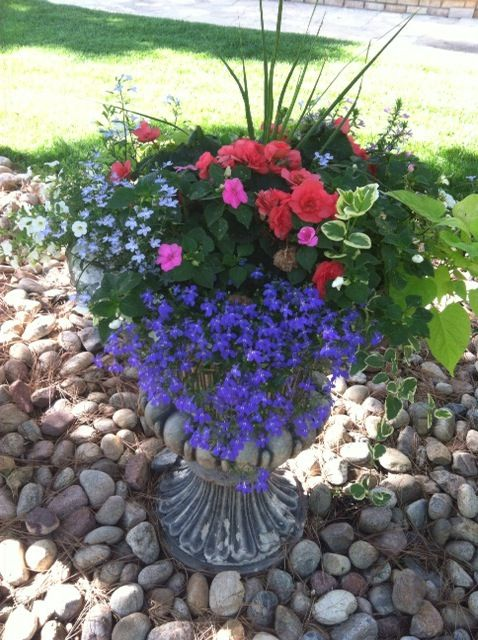 Flowers And Garden Ideas Shade Flower Pots Containers