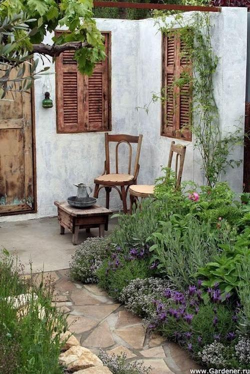 a kitchen Herb garden.