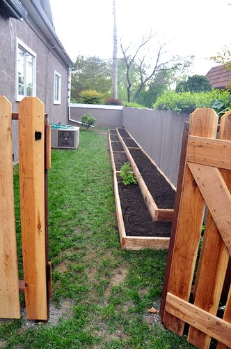 Flowers And Garden Ideas Raised Bed Gardening In Narrow Spaces
