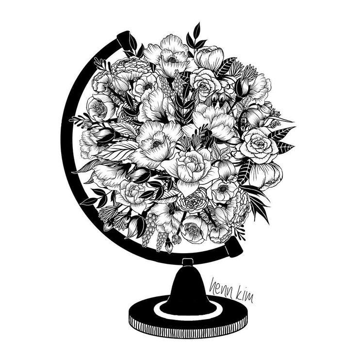 What a beautiful world . . . #beautiful #world #flowers #globe #botanical