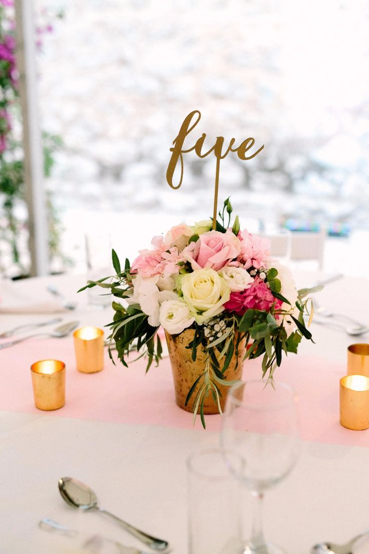 Ultimate elegance in gold and pink tones with a touch of romance. Love the laser...